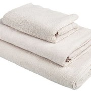 Taupe Bath Towel Trio