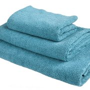 Teal Bath Towel Trio